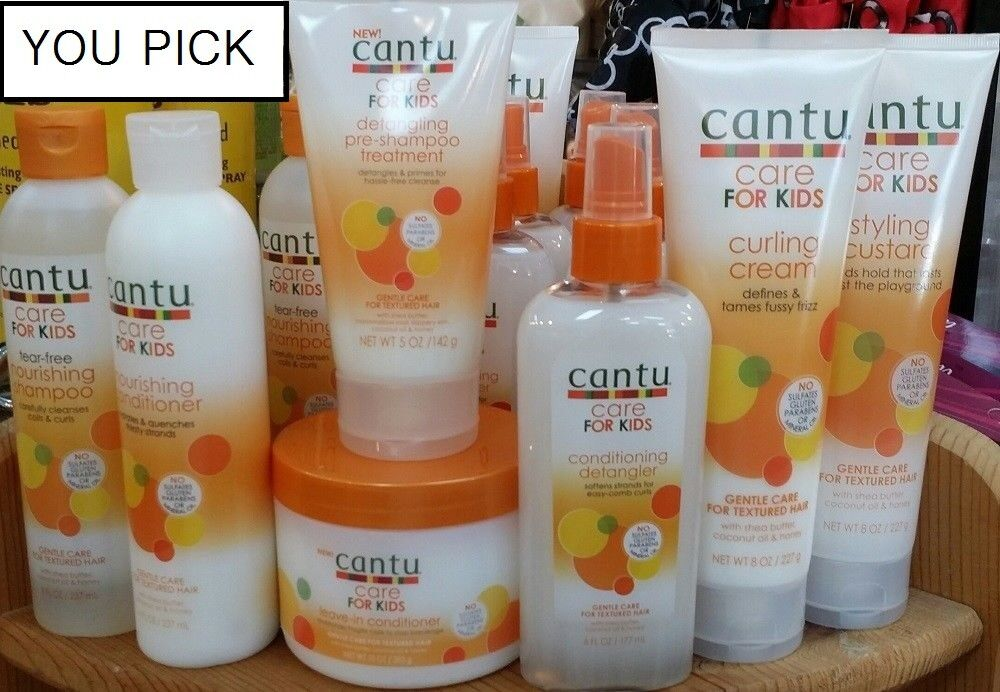 Cantu Care for Kids Hair Care Products -YOU PICK!