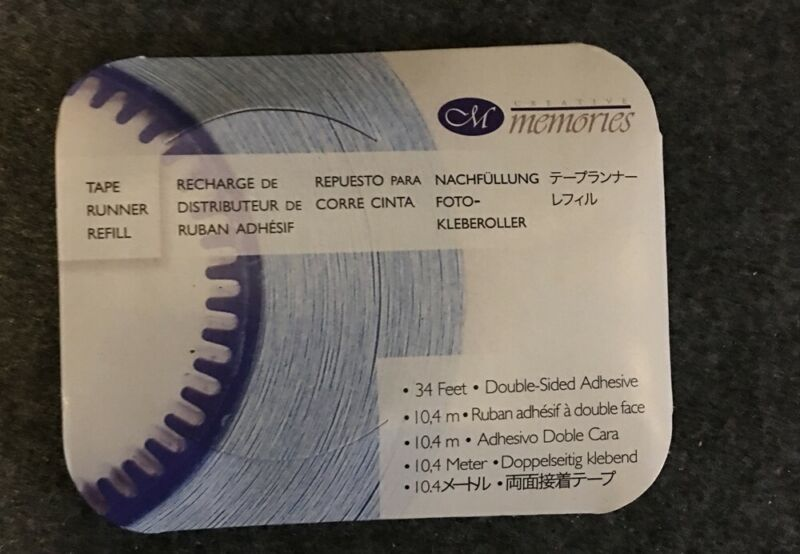 Creative Memories tape runner refill 34