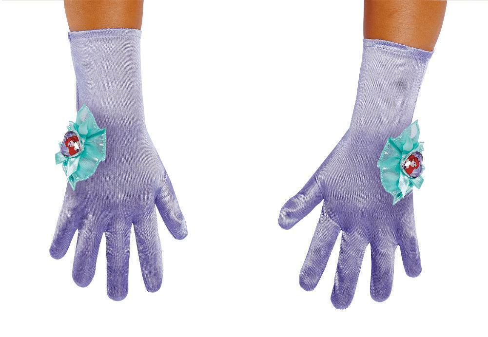 Disguise Disney Princess Girl's Little Mermaid Gloves