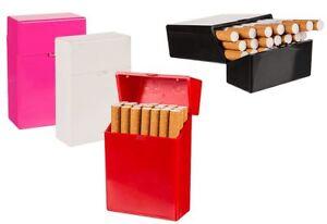 Assorted Colour Plastic Cigarette Case Storage Box Holder Pocket Gift Storage