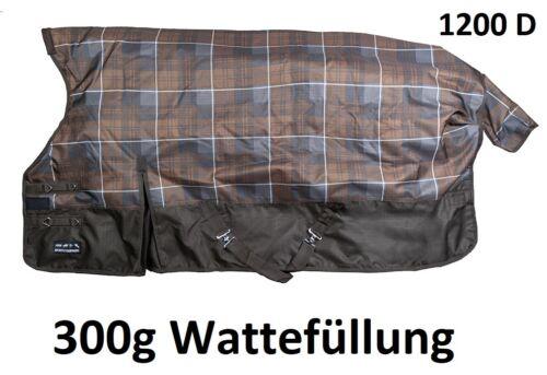 Weidedecke Highneck Winter protect 1200D 300g Füllung Winterdecke Thermo DeckeWinterdecke: Wasserdicht und atmungsaktiv !!!