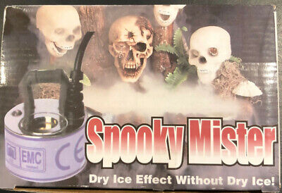 Dry Ice Halloween Effects (Halloween Spooky Mister Dry Ice Effect with no)