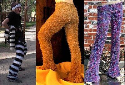 Magic Fuzzy Pants Cat Satyr Pan Zebra Bear Bunny Unicorn Dog Burner Hoop Costume