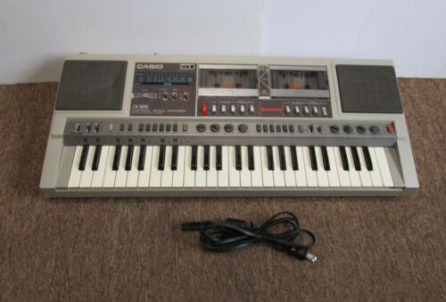 Vintage Casio CK-500 Boombox Keyboard AM/FM Radio Double Cassette Recorder