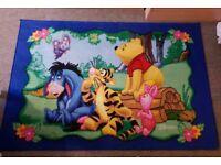 Winnie the Pooh & Friends blue rug