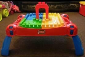 Mega Bloks Toddler Table
