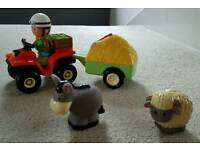 Happyland farmer's set