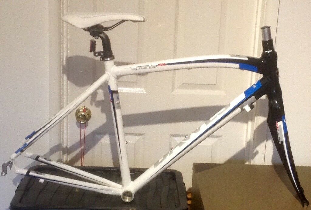 Brand New Dawes Aluminium/Carbon Winter Training Road Bike Frame & Forks - 48Cm Frame Size