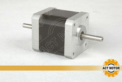 1PC Nema17 17HS5425B24 Schrittmotor Dual Shaft 2.5A 48mm 4800g.cm  ACT MOTOR gebraucht kaufen  Deutschland