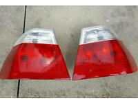 BMW Rear lights for E46 saloon *New*
