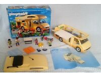 Playmobil Holiday Camper Boxed Plus Instructions. (Only £20!)