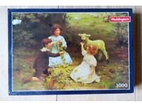 Waddington 1000 piece jigsaw puzzle