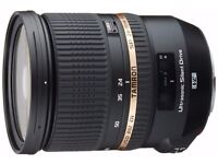 Tamron 24-70 mm F2.8 VC USD Lens for Canon