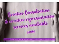 Creative consultation & creative representation services