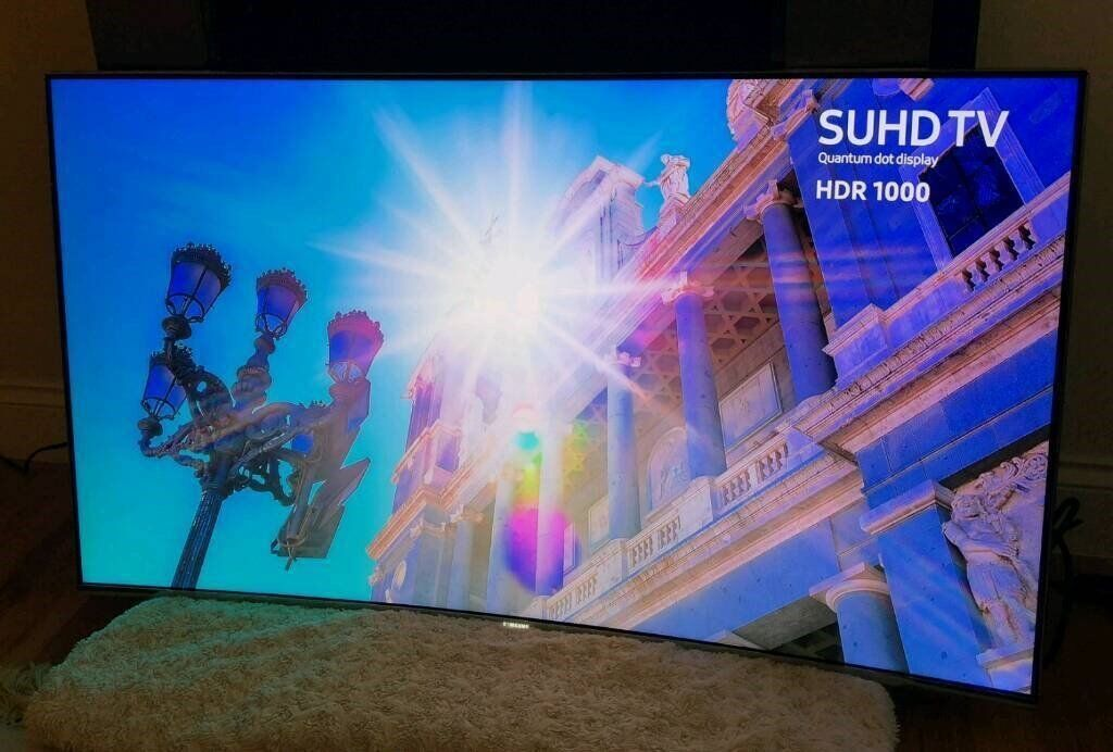 43in Samsung 4K HDR 1000 Smart Quantum Dot SUHD LED TV [NO STAND] | in  Brentry, Bristol | Gumtree