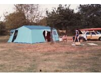 1960s family tent