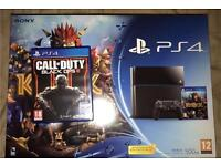 Playstation Ps4 with call of duty black Ops III