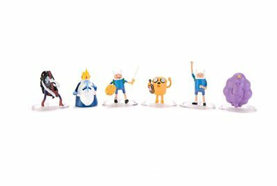Adventure Time 2-Inch Deluxe Action Figure 6-Pack
