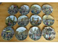 12 Cries of London Limited Edition Commemorative Plates Davenport China