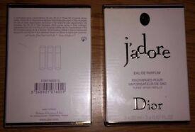 Dior Parfum Purse Spray Refillable 3x20ml