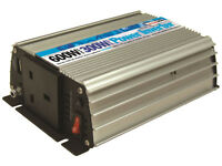 12v to 240 Mains Power Inverter 600w peak - 300w continuous for MotorHome, Caravan, Boat or Car