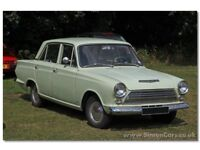 CLASSIC FORDS WANTED FORD ANGLIA FORD CORTINA FORD ESCORT FORD CAPRI