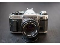 Canon AE-1 Program and Canon 50mm 1.8 FD
