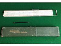 Faber Castell Addiator V54 -Darmstadt- slide rule for sale  High Wycombe, Buckinghamshire