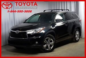 2014 Toyota Highlander Limited/GPS/CUIR/TOIT PANO/7PASS