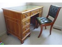 Desk and chair - Regency-style