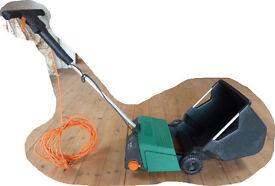 Electric Lawn Scarifier and Leaf Sweeper