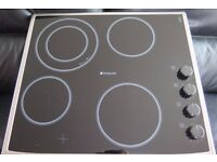 Hotpoint Newstyle Ceramic Hob. Model number:- CRM 641 D X