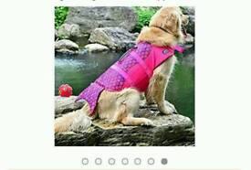 Mermaid Dog Life Jacket