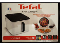 New boxed Tefal Fry Delight Initial low fat fryer for sale from a smoke and pet free house