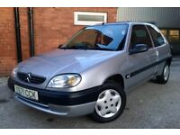 +++ BARGAIN +++ 2001 CITROEN SAXO 1.1L, MANUAL, 8 MONTH MOT, LOW MILES, CHEAP CAR READY TO GO NOW