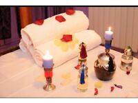 Great massage by oriental girl masseur