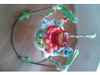Fisher Price Rainforest Jumperoo - baby bouncer - activity center - Fisher-Price £40