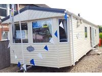 3 Bedroom static caravan Isle of Wight, Double glazed and central heated