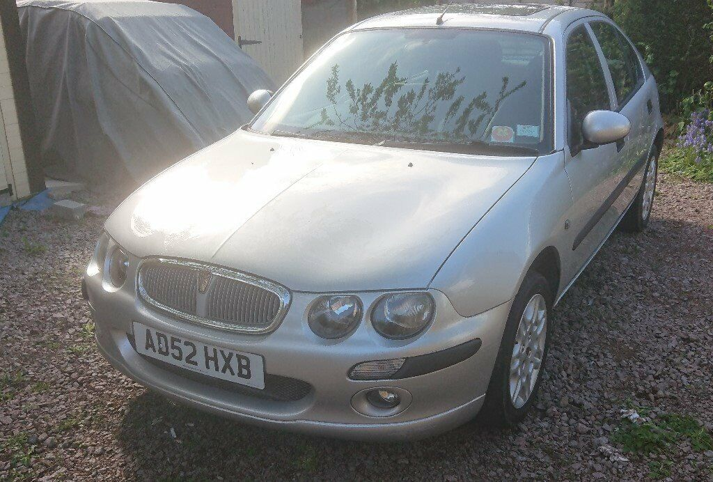 Rover 25 1 6 iXL 5dr 2003, black leather, air con, top of the range | in  Syston, Leicestershire | Gumtree