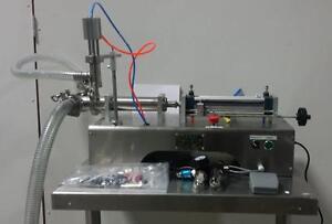 Remplisseuse pneumatique à piston semi-automatique pour liquide (10 à 300ml) neuve *AEVOS*