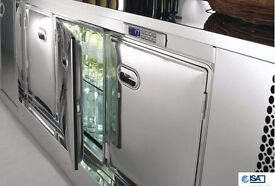 ISA Italy Vintage Fridges and Cabnets for Sale (RRP Price £32,000)