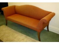 TWO SEATER HAND BUILT SOFA BY WAWA/RICHARD WARD