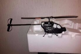 BOEING AH-64D APACHE HELICOPTER, RADIO CONTROLLED, BRAND NEW IN BOX