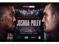 Anthony Joshua v Kubrat Pulev - 28.10.2017