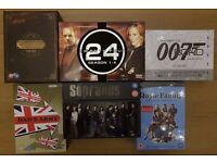 The Sopranos | 24 Seasons 1-6 | James Bond | Deadwood | Dad's Army | Royle Family - DVD Box Sets