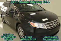 2011 Honda Odyssey EX-L w/RES, LOCAL, NO ACCIDENTS, SUNROOF, DVD