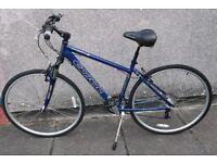 "Carrera Crossfire 2 Hybrid Bike 18"" Frame size Perfect condition"