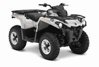 2015 Can-Am Outlander L 500 DPS $24.34/wk (120 months @ 7.99%)