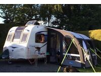 2013 Bailey Pegasus GT65 Genoa 2 berth touring caravan, fully serviced, includes awning £13,250