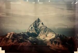 Far away mountain - Wall Art Glass Painting Sale(PA31)